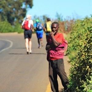 trail running in tanzania