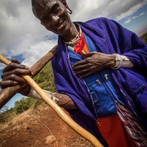 tanzania trail running Maasai